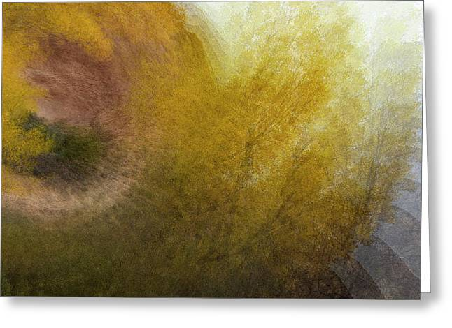 Greeting Card featuring the photograph Autumn Waves by Deborah Hughes