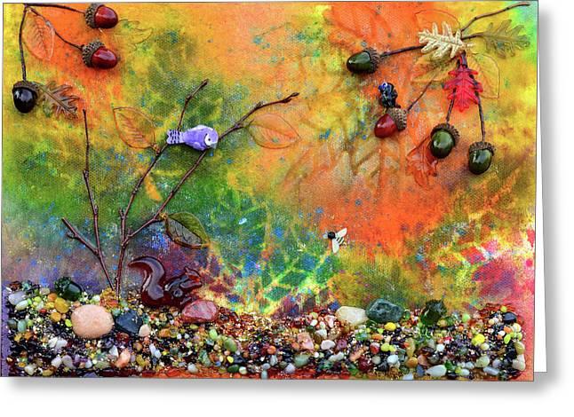 Autumnal Enchantment Greeting Card