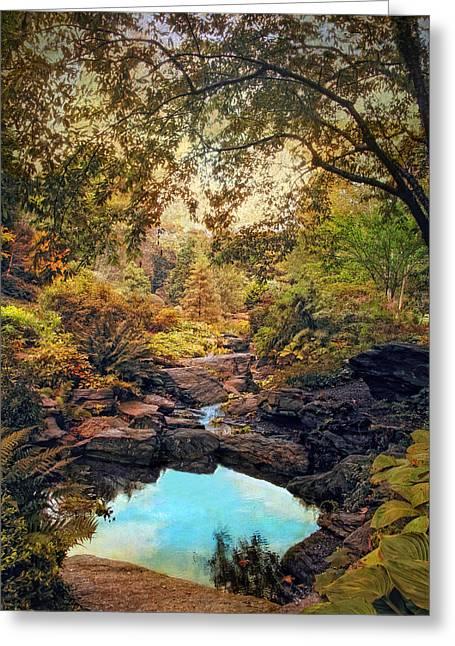 Autumnal Garden Greeting Card