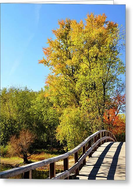 Autumnal North Bridge Greeting Card