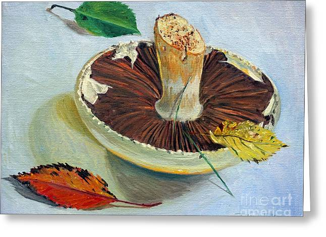 Autumnal Still Life, Greeting Card