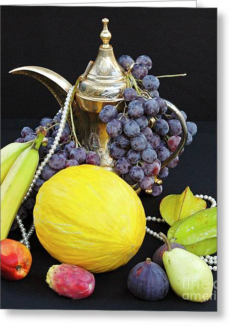 Symphony Of Forbidden Fruits Greeting Card