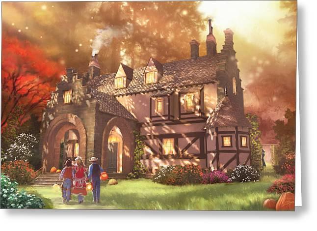 Autumnhollow Greeting Card