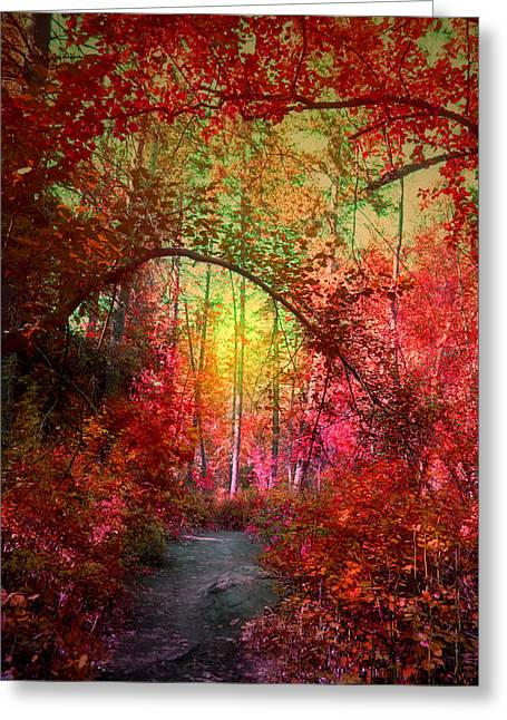 Autumn's Archway Greeting Card
