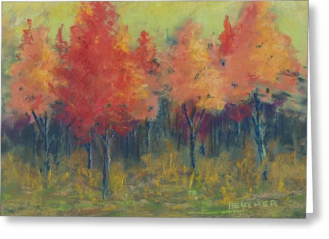 Autumn's Glow Greeting Card