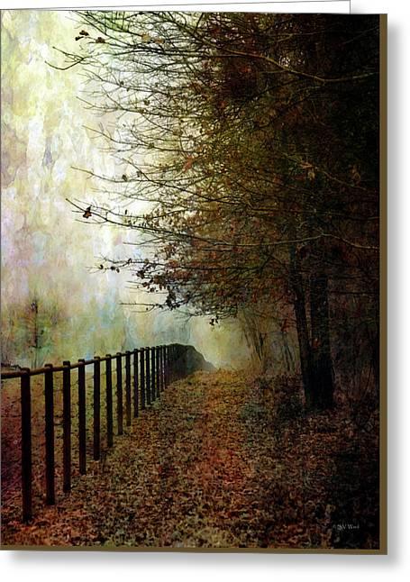 Autumns Path 7864 Idp_2 Greeting Card