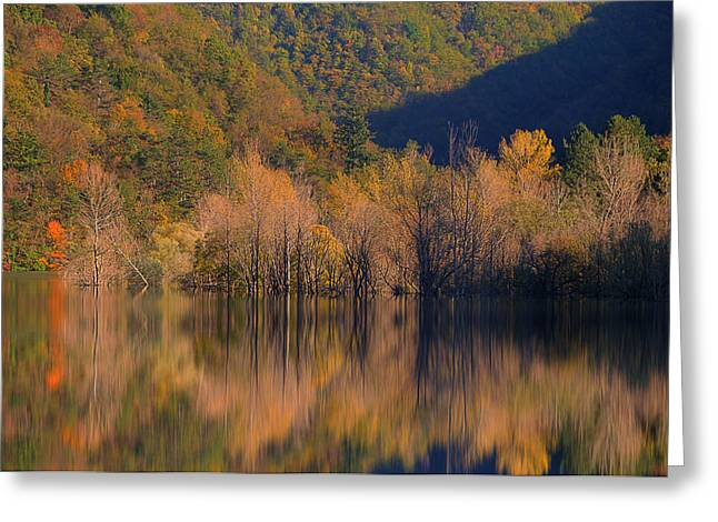 Greeting Card featuring the photograph Autunno In Liguria - Autumn In Liguria 1 by Enrico Pelos
