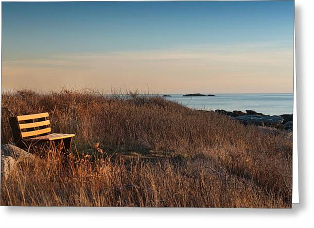 Greeting Card featuring the photograph Available Seating by Robin-lee Vieira
