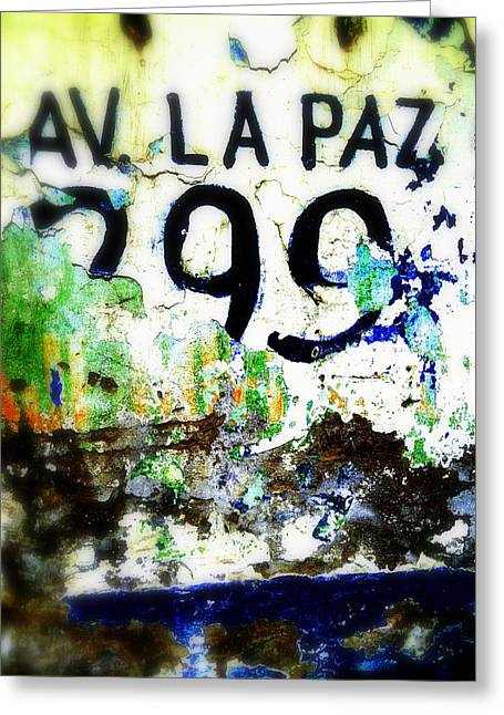 La Paz Greeting Cards - Avenida de La Paz Santiago  Greeting Card by Funkpix Photo Hunter