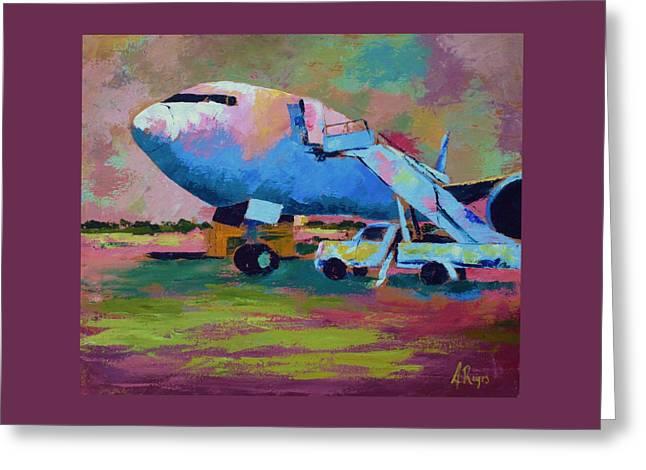 Aviation Ground Handling 1 Greeting Card