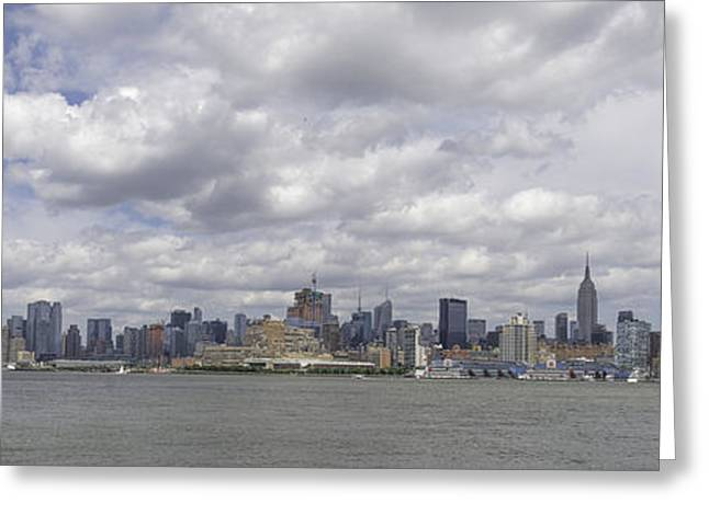 A View From New Jersey 1 Greeting Card