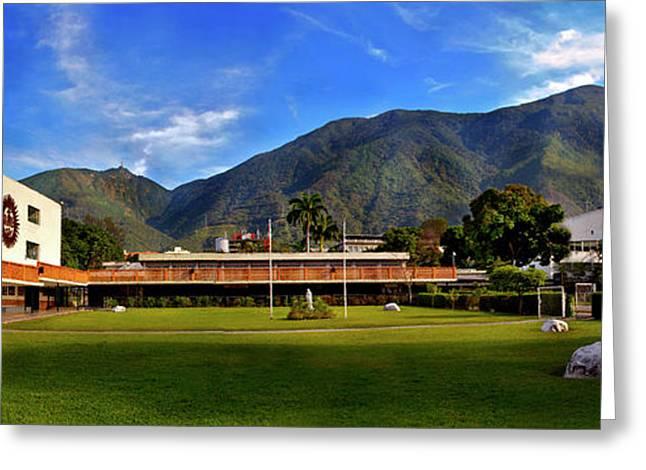 Avila Desde Colegio San Ignacio 2 Greeting Card