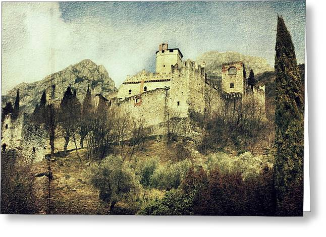 Avio Castle Greeting Card