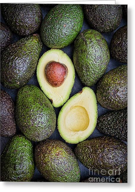 Avocado Greeting Card