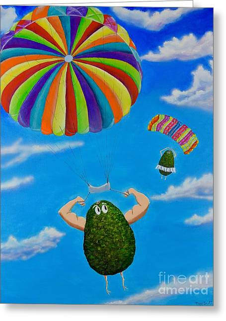 Avocado's From Heaven Greeting Card