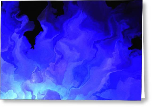 Awake My Soul - Abstract Art Greeting Card