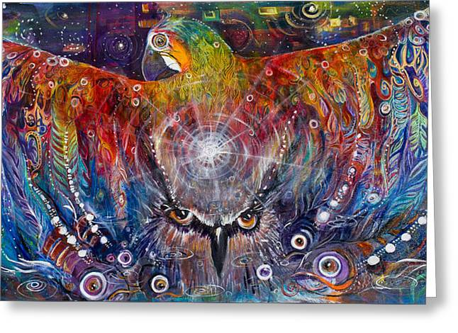 Awaken Greeting Card