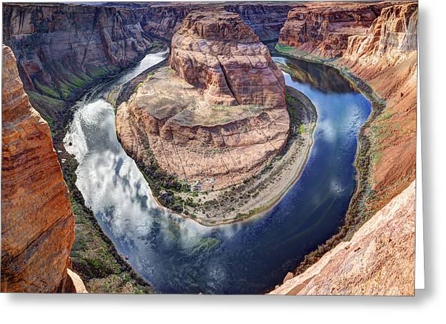 Awesome Amazing Horseshoe Bend Arizona Greeting Card