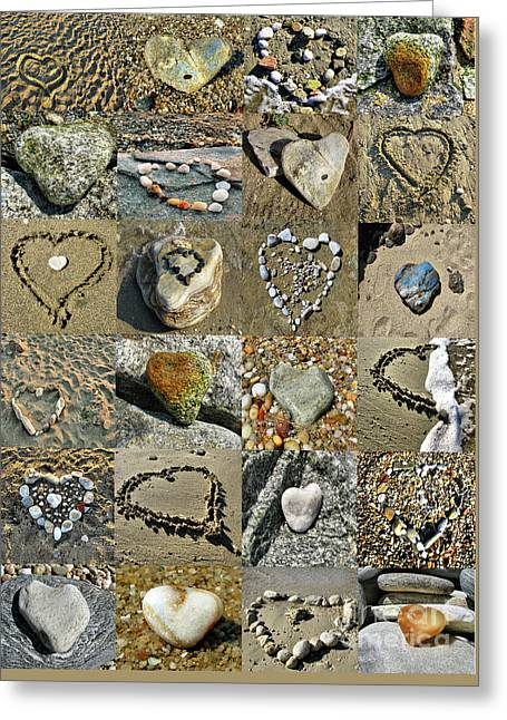 Awesome Hearts Found In Nature - Valentine S Day Greeting Card