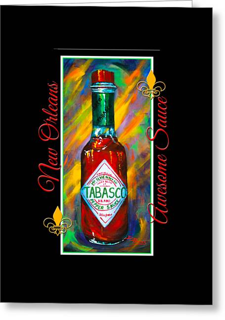 Awesome Sauce - Tabasco Greeting Card