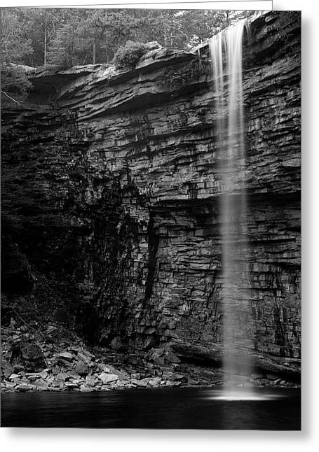 Awosting Falls In Spring #4 Greeting Card by Jeff Severson