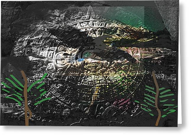 Ay Tenochtitlan  Greeting Card