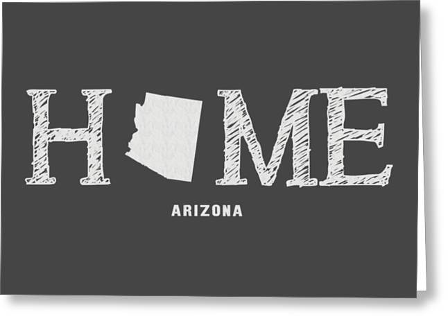 Az Home Greeting Card by Nancy Ingersoll