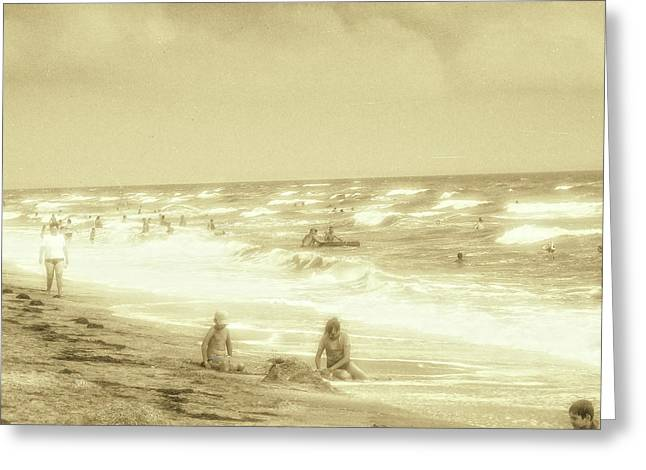 Azov Sea-seascape Greeting Card by Olexandr Prokopchenko