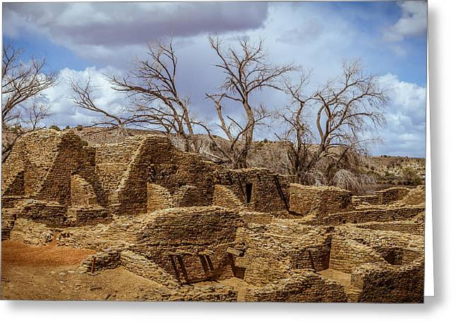 Aztec Ruins, New Mexico Greeting Card