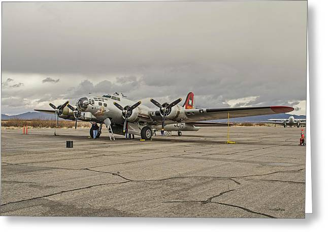 B-17 Flying Fortress Greeting Card