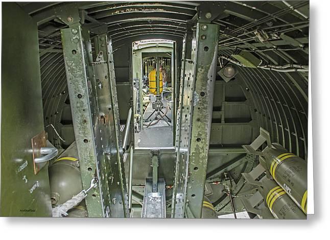B-17 Interior Greeting Card