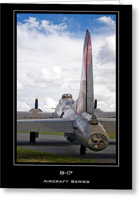 B-17 Pink Lady Greeting Card by Mathias Rousseau
