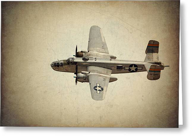 B-25j    Miss Mitchell Greeting Card