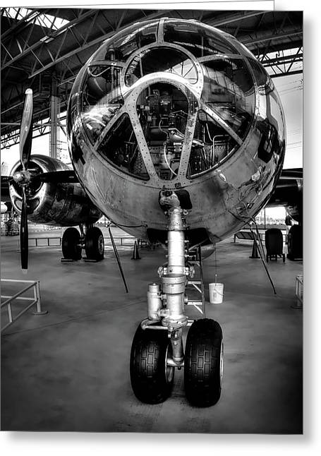 B-29 Superfortress Heavy Bomber Greeting Card by Daniel Hagerman