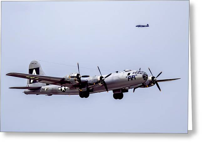 B-29 Superfortress Greeting Card