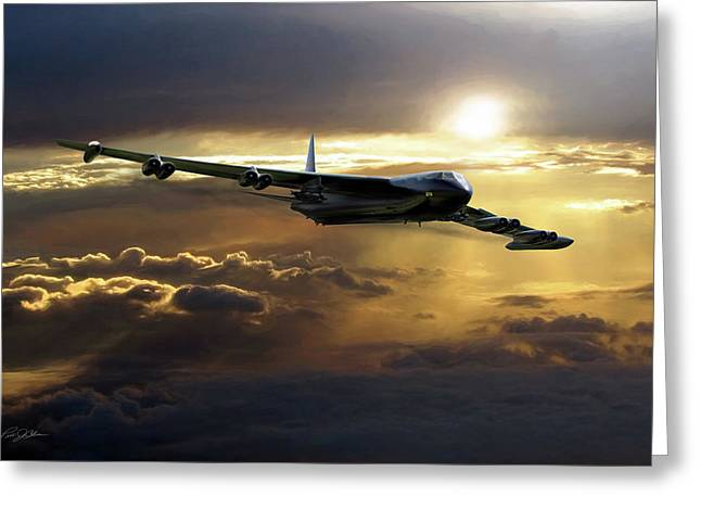 B-52 The Power Of Zeus Greeting Card