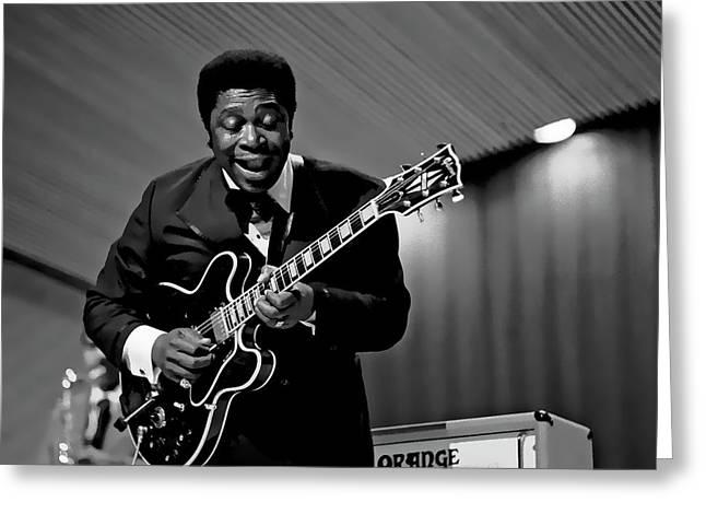 B. B. King Blues Live Greeting Card