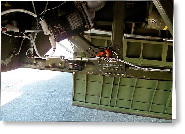 B17 Outer Bomb Door Switch Jct  Greeting Card