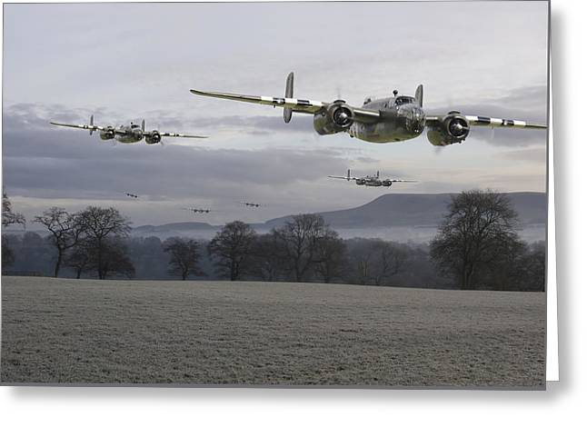 B25 Strike Package Greeting Card by Pat Speirs