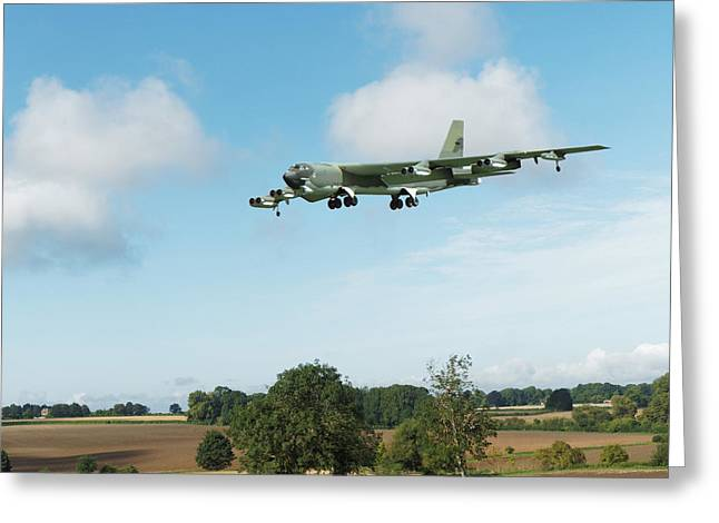 B52 Stratofortress Greeting Card
