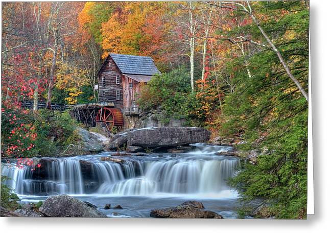 Babcock Grist Mill  II Greeting Card