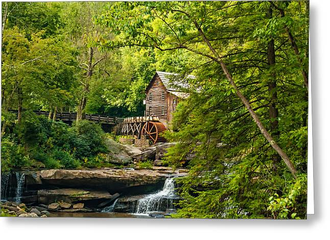 Babcock State Park Wv Greeting Card by Steve Harrington