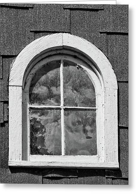 Greeting Card featuring the photograph Babcock Window 2273 by Guy Whiteley