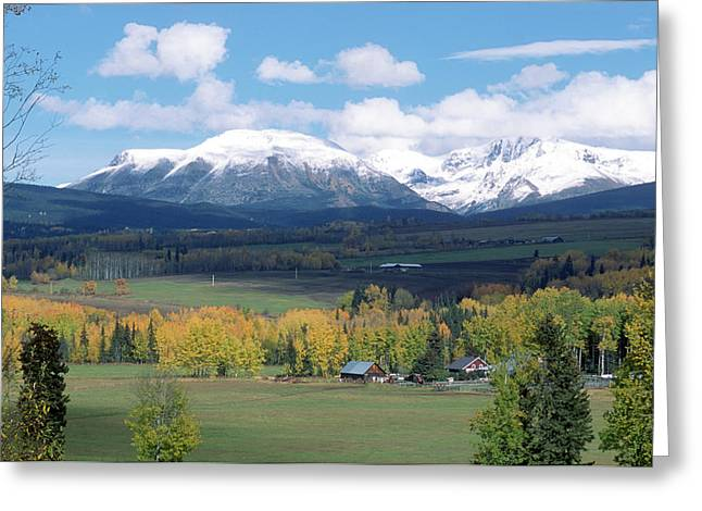 Babine Range-fall View Greeting Card