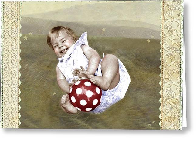 Baby Ball Greeting Card