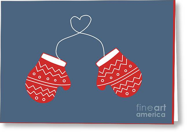Baby It's Cold Outside Greeting Card by Kathrin Legg