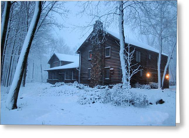 Baby Its Cold Outside Greeting Card by Kristin Elmquist