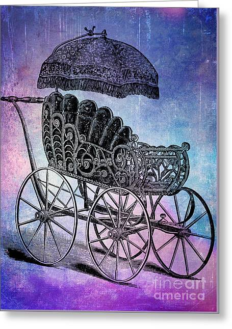 Baby Shower Dreams Greeting Card