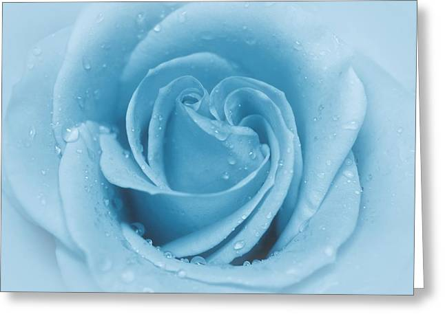 Baby Soft - Blue Greeting Card