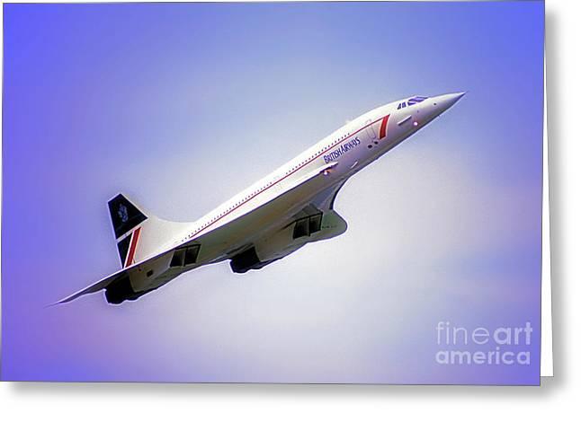 Bac Concorde  Greeting Card